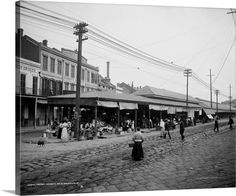 Shorpy Historical Photo Archive :: French Market: 1910 New Orleans Louisiana History, New Orleans Louisiana, Louisiana Gumbo, Old Pictures, Old Photos, Vintage Photographs, Vintage Photos, French Market New Orleans, Shorpy Historical Photos