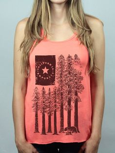 4654fe97 CA limited redwods american flag tank American Flag Tank, Love Bear, How To  Draw