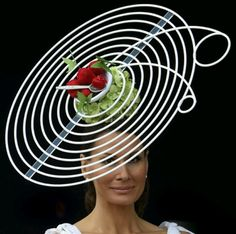 English Summer Hat worn by Isabella Christensen on Ladies  Day at The Royal  Ascot. by jerry. TMHAIR LTD · Hair Fascinators!!! 1cb97586278