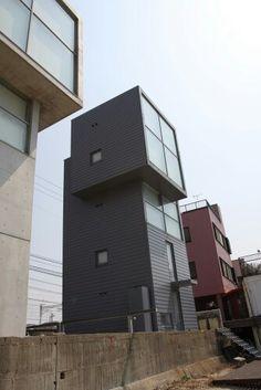 4 x 4 house by tadao ando