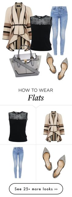 """""""F"""" by anchilly23 on Polyvore featuring Oscar de la Renta, Karen Millen, G-Star and River Island"""