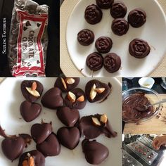How to make Nutty Homemade Chocolates - easy #Valentines Day Treat   Nutty homemade chocolates..  Valentine's Day was just around the corner ; however there's always an excuse to indulge in some sweet or mithai isn't it ? Today's is a perfect gift for my own little Valentines - my two little girls (well they are no more little but the worried mommy in me says they'll fly away before it's long ) so here am savouring all my moments with them ..  One of them were these cute nut filled home made…