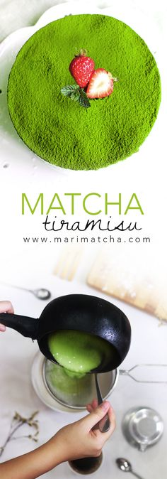 Matcha pairs well with anything, from sweet red beans, to creamy and cheesy marscapone! So why not delight in the sweet, tangy, and umami flavors of this irres