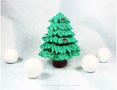 Weihnachtsbaum häkeln: DIY Tannenbaum selber machen