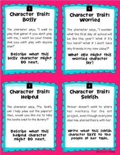 how to develop character traits