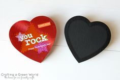 How to Make Chalkboard Art from an Old Candy Box
