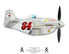 Here is my latest caricature, a P-51 racer. This highly modified Mustang featured a removed belly scoop and a radical weight reduction program to make it the sleekest and lightest Mustang flying at the time. She won the Reno National Championship Air Races in 1984 with pilot Skip Holm at the controls. She continued to compete for several years and has changed hands a few times. My understanding is she has been returned to stock P-51 configuration.