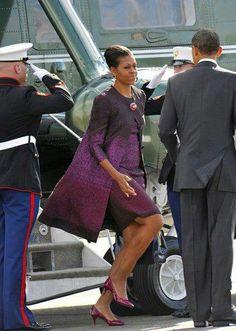 1st Lady Michelle & President Barack Obama