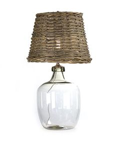 I LOVE everything Kathy Kuo! Panier French Cottage Large Glass Rustic Basket Shade Table Lamp - Kathy Kuo Home French Country Furniture, Rustic Furniture, Bliss Home And Design, Traditional Table Lamps, Rustic Baskets, French Cottage, Coastal Cottage, Coastal Style, Coastal Living