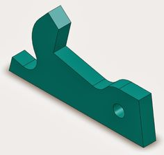 Starlet's CAD Drawing Exercise Blog: 3D CAD Exercises drawing - Part design 5