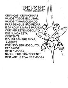 Música do Mosquito             Acróstico da dengue           Trabalhando com álbum:         Cartaz: ciclo de vida do aedes aegypti    ...
