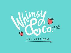 Whimsy & Co. on Behance #logo #typography #branding
