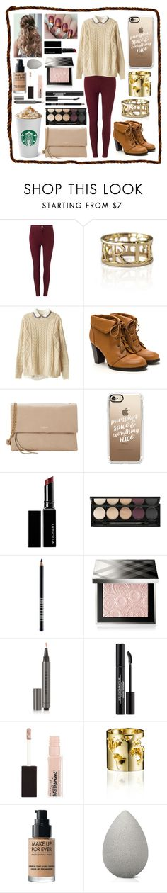 """""""Untitled #24"""" by cmcsaxon ❤ liked on Polyvore featuring Miss Selfridge, Artelier, Lanvin, Casetify, Witchery, Lord & Berry, Burberry, Maybelline and beautyblender"""