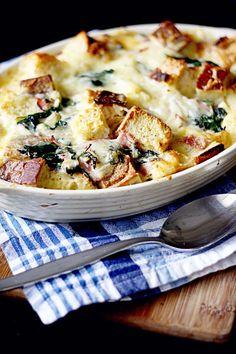 Spinach Ham Strata main