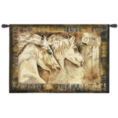 Messengers Of Spirit Equestrian Wall Tapestry