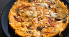 Low Carb Pizza Omelett