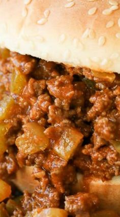 Slow Cooker Sloppy Joes ~ The perfect way to feed a crowd because they can be prepared up to 24 hours in advance.