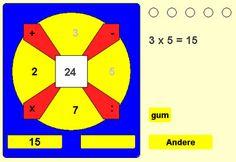 Heel veel rekenspelletjes voor alle groepen. Ook voor groep 1 en 2