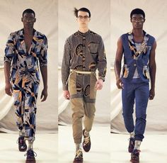 African Fashion Week Men   African Inspired: Petrouman S/S 2012 Collection   Haute Fashion Africa