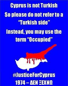 There is no north cyprus, so called north cyprus is a product of Turkey's imperialism. North Cyprus, Greece, Archaeology, Awesome, Cyprus, Greece Country