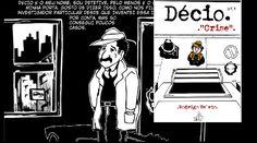 """O curitibano Rodrigo Belato é cartunista, arte-educador e sócio-diretor da Casa Cultural Belaboni, em Curitiba (PR). Ele também é o autor da graphic novel Décio, lançada no mês passado pela hoo editora, especializada em livros LGBT. É a primeira vez que ele escreve de um livro com classificação para maiores de 18 anos. """"É meu primeiro livro adulto depois de mais de 20 anos trabalhando com o público infantil. Uma nova e eletrizante experiência porque o Décio se tornou o mais humano de todos…"""