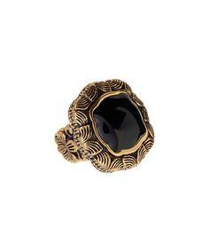 Loving this Black Onyx & Bronze Ring on #zulily! #zulilyfinds