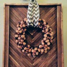 DIY Walnut Wreath Tutorial