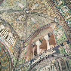 What are you grateful for today I need more positive vibes in life as I have a bloody ton of tasks for this week!  For this I'm uploading a photo of a cathedral's vault in #Ravenna  Can you believe it's not a painting but #mosaics? Thousands of tiny pieces merged together into an incredible piece of art  Early Christian mosaics and monuments in Ravenna are dated by the 5th and the 6th centuries! And nowadays they belong to #UNESCO World #Heritage  I'll upload more photos of these incredible…