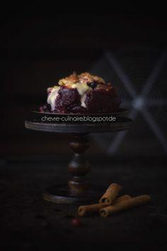 Chèvre Culinaire: [Rezept] Weihnachtlicher Beeren-Crumble - Dessertidee für das Festtagsessen