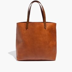 Madewell Transport Tote - english saddle, monogrammed $168  expensive... but beautiful. I want to make out with this tote bag. I've never said that about a tote bag before and I probably never will.