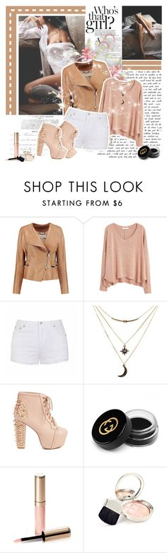 """""""No Identity"""" by winala ❤ liked on Polyvore featuring Fantasia, Chloé, MANGO, Ally Fashion, Charlotte Russe, Jeffrey Campbell, Gucci and By Terry"""