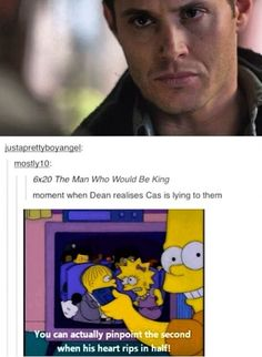 Realizes* Supernatural 6x20 The Man Who Would be King