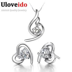 Find More Jewelry Sets Information about Cheap Jewelry Free Shipping Bridal Jewelry Sets 925 Sterling Silver Sets for Girls Earrings Jewelry Wedding Necklace T020,High Quality set radio,China set mp4 Suppliers, Cheap set digital wrist watch from ULOVE Fashion Jewelry on Aliexpress.com