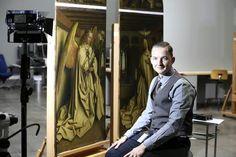 Bart Devolder begeleidt de restauratie van het altaarstuk. http://www.cobra.be/permalink/1.1445244