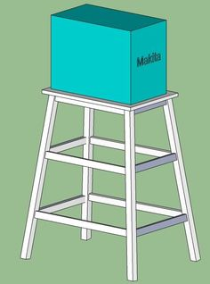Miter Saw Stand or Table - The Dale Maley Family Web Site                                                                                                                                                     More