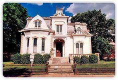The Villa Marre, Designing Women's house, Little Rock, Arkansas