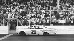 "Junior Johnson: Last American Hero 50 years later --- ""Junior wins the 1965 Old Dominion 500 at Martinsville Speedway, holding off fellow future NASCAR Hall of Famers Richard Petty, David Pearson and Ned Jarrett, who finished 2nd through 4th."""