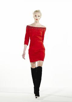 Azzaro Fall Winter 2013-2014: OLINDE dress #azzaro