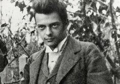 The portrait of young Paul Klee (Bern, Switzerland 1897)