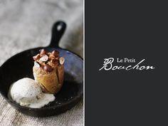 Butternut Squash & Hazelnut Bouchons with Toasted Nutmeg Ice Cream