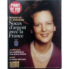 Point De Vue Images Du Monde N° 2251 Du 19/09/1991 - Margrethe De Danemark - Noces D'argent Avec La France. Au Portugal - Confidences D'un Prince Fermier. Russie - Le Tresor Des Tsars.