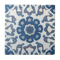 TR002 Turkish Reproduction Ceramic Tile
