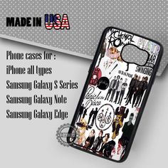 Samsung S7 Case - Bands FOB My Chemical Romance- iPhone Case #SamsungS7Case #PATD  #yn