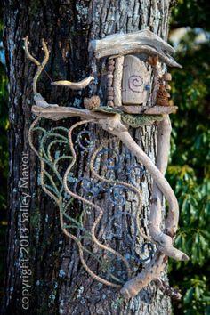 fairyhouse. by Salley Mavor.  I'd need driftwood from the beach.
