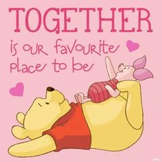 There's no Pooh without a Piglet Tigger And Pooh, Cute Winnie The Pooh, Winne The Pooh, Winnie The Pooh Quotes, Winnie The Pooh Pictures, Christopher Robin, Piglet Quotes, Cute Quotes, Quotes Gif