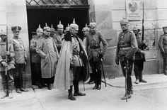 Kaiser Wilhelm II and August von Mackensen