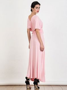 Shop Pink Multiway Maxi Dress from choies.com .Free shipping Worldwide.$29.9