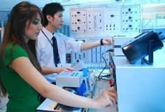 Electrical Engineering lab at Asia Pacific University lecture theatre