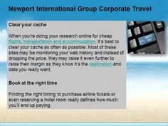Newport International Group Corporate Travel: Best travel money-saving tips - The biggest problem with traveling though is the fact that it can be a rather expensive affair.