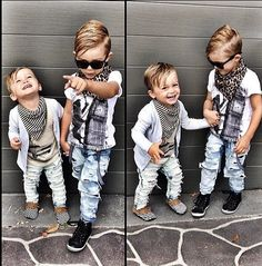 Little boys fashion is fun to mix & match